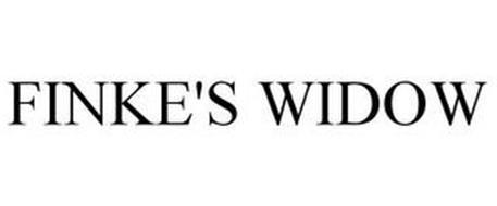 FINKE'S WIDOW
