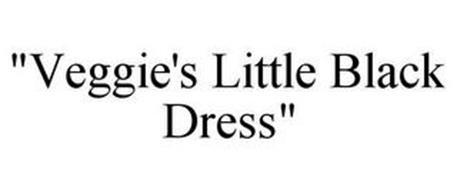 """""""VEGGIE'S LITTLE BLACK DRESS"""""""
