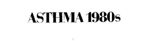 ASTHMA 1980S