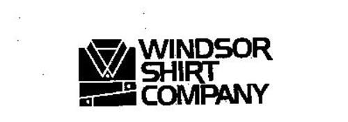 Windsor shirt company trademark of windsor shirt company for Get company shirts made