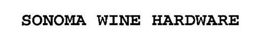 SONOMA WINE HARDWARE