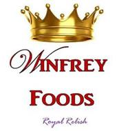 WINFREY FOODS ROYAL RELISH