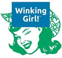 WINKING GIRL!