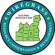 WIREGRASS RESOURCE CONSERVATION & DEVELOPMENT LOCAL PEOPLE MEETING LOCAL NEEDS RUSSELL BARBOUR PIKE CRENSHAW COVINGTON COFFEE DALE HENRY HOUSTON GENEVA