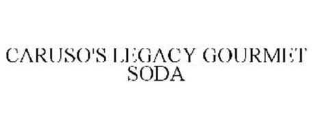 CARUSO'S LEGACY GOURMET SODA
