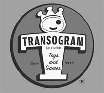 TRANSOGRAM GOLD MEDAL TOYS AND GAMES SINCE 1915