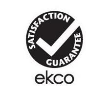 SATISFACTION GUARANTEE ECKO