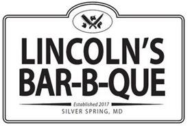 LINCOLN'S BAR-B-QUE ESTABLISHED 2017 SILVER SPRING, MD