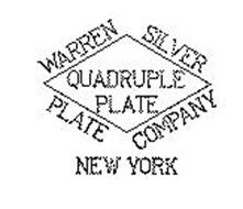 WARREN SILVER PLATE CO. NEW YORK QUADRUPLE PLATE