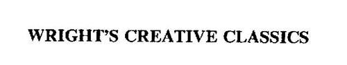 WRIGHT'S CREATIVE CLASSICS