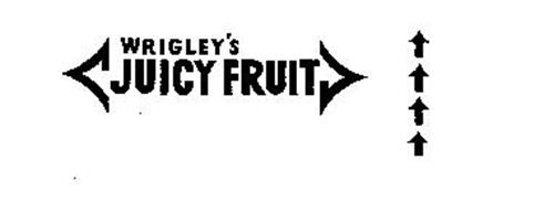 WRIGLEY'S JUICY FRUIT