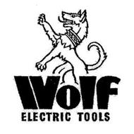 WOLF ELECTRIC TOOLS