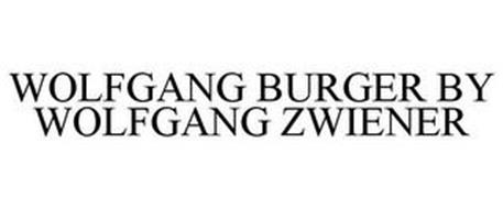 WOLFGANG BURGER BY WOLFGANG ZWIENER