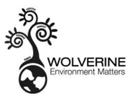 WOLVERINE ENVIRONMENT MATTERS PARTNERS PROCESS PRODUCT PEOPLE