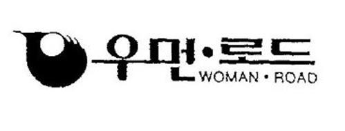 WOMAN · ROAD