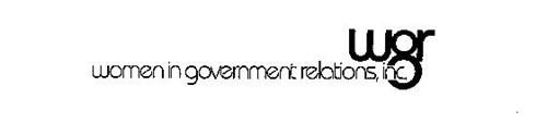 WOMEN IN GOVERNMENT RELATIONS, INC. WGR