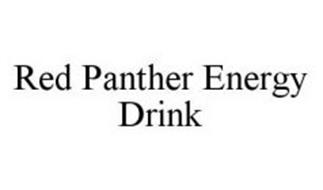 RED PANTHER ENERGY DRINK
