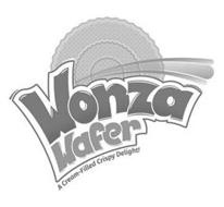 WONZA WAFER A CREAM-FILLED CRSIPY DELIGHT!