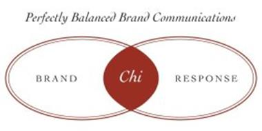 PERFECTLY BALANCED BRAND COMMUNICATIONS BRAND CHI RESPONSE