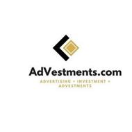 ADVESTMENTS.COM ADVERTISING + INVESTMENT=ADVESTMENTS