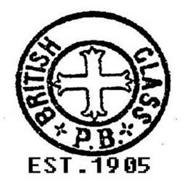 BRITISH GLASS P.B. EST 1905