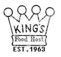 KING'S FOOD HOST EST. 1963