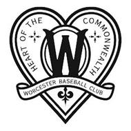 W WORCESTER BASEBALL CLUB HEART OF THE COMMONWEALTH