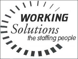 WORKING SOLUTIONS THE STAFFING PEOPLE