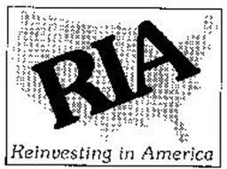 RIA REINVESTING IN AMERICA