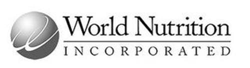 W WORLD NUTRITION INCORPORATED