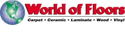 WORLD OF FLOORS CARPET · CERAMIC · LAMINATE · WOOD · VINYL