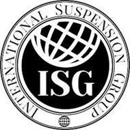 INTERNATIONAL SUSPENSION GROUP ISG