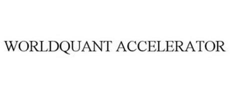 WORLDQUANT ACCELERATOR