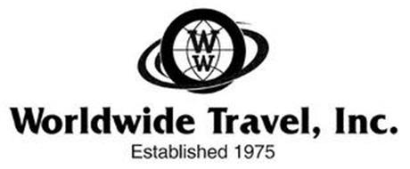 WW WORLDWIDE TRAVEL, INC. ESTABLISHED 1975