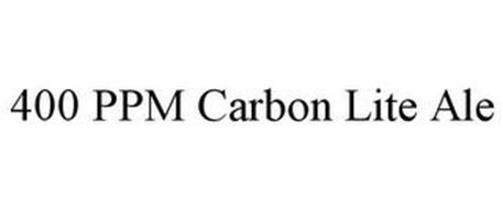 400 PPM CARBON LITE ALE