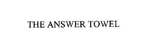 THE ANSWER TOWEL