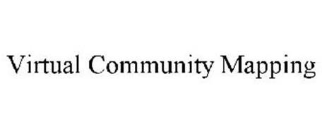 VIRTUAL COMMUNITY MAPPING