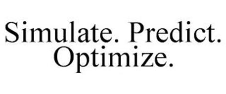 SIMULATE. PREDICT. OPTIMIZE.