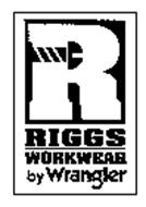 R RIGGS WORKWEAR BY WRANGLER