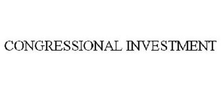CONGRESSIONAL INVESTMENT