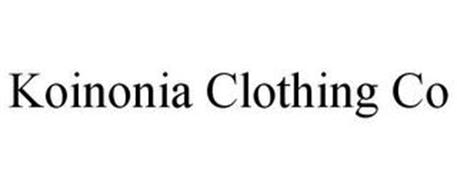 KOINONIA CLOTHING CO