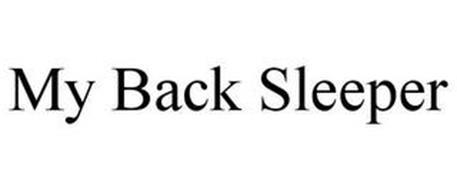MY BACK SLEEPER
