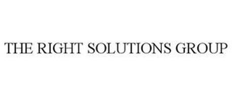 THE RIGHT SOLUTIONS GROUP