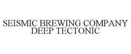 SEISMIC BREWING COMPANY DEEP TECTONIC