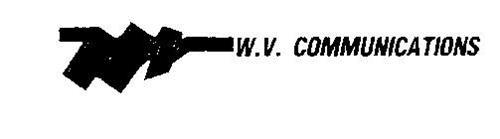 W.V. COMMUNICATIONS