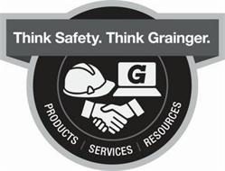 THINK SAFETY. THINK GRAINGER. PRODUCTS SERVICES RESOURCES G
