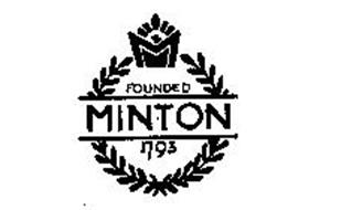 MINTON FOUNDED 1793