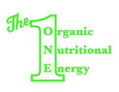 THE 1 ORGANIC NUTRITIONAL ENERGY