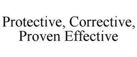 PROTECTIVE. CORRECTIVE. PROVEN EFFECTIVE.