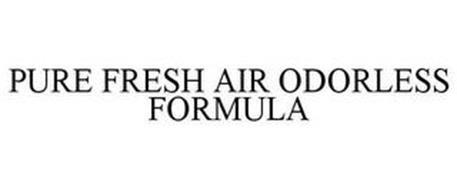PURE FRESH AIR ODORLESS FORMULA